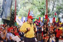 Ex-presidente Lula realiza fala em apoio ao MST em ato na Escola Nacional Florestan Fernandes / José Eduardo Bernardes