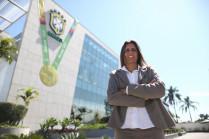 Emily Lima, nova técnica da Seleção Feminina principal / Lucas Figueiredo/CBF