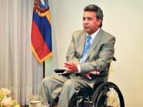 Ex-vice-presidente Lenín Moreno, candidato a presidente pela Aliança País (Foto: Página/12).