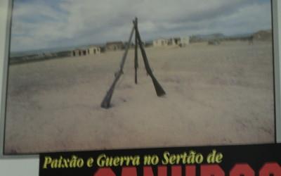 Cartaz do documentário Paixão e Guerra no Sertão de Canudos. Foto: Jadson Oliveira