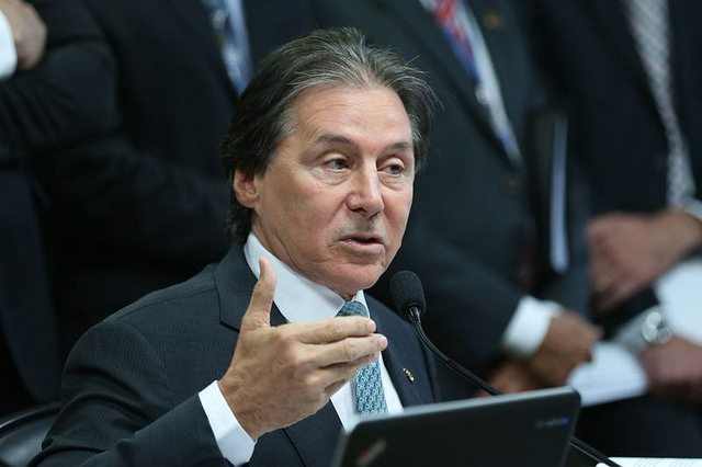 Eunício Oliveira é o novo presidente do Senado / Fabio Rodrigues Pozzebom/Agência Brasil