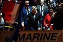 O fascismo mal disfarçado de Le Pen e seu guarda-costas brucutu encontraram um rival à altura