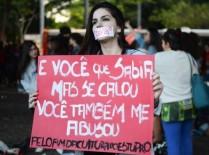 No Brasil, uma mulher é estuprada a cada 11 minutos. | Foto: Rovena Rosa/Agência Brasil